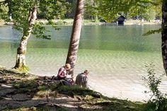 Entspannen am See Bohinj