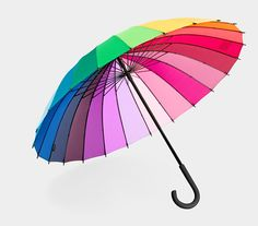 30 Totally Amazing Umbrellas To Get You Through The Rainy Days. I'd spin this umbrella just to make the colors swirl together