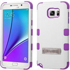 MYBAT TUFF M-Stand Samsung Galaxy Note 5 Case - White/Purple