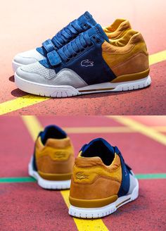 SneakerFreaker x Lacoste L!VE Missouri Friends Family Lacoste Sneakers, Best Sneakers, Sneakers Fashion, Fashion Shoes, Shoes Sneakers, Lacoste Shoes Mens, Mens Puma Shoes, Kicks Shoes, Hype Shoes