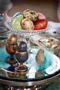 Persian Wedding Sofreh Aghd decorated eggs