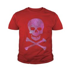 Cool Pink Skull & Crossbones t-shirt Fun Girly Skull tee #gift #ideas #Popular #Everything #Videos #Shop #Animals #pets #Architecture #Art #Cars #motorcycles #Celebrities #DIY #crafts #Design #Education #Entertainment #Food #drink #Gardening #Geek #Hair #beauty #Health #fitness #History #Holidays #events #Home decor #Humor #Illustrations #posters #Kids #parenting #Men #Outdoors #Photography #Products #Quotes #Science #nature #Sports #Tattoos #Technology #Travel #Weddings #Women