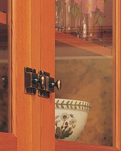 must have these latches & catches on kitchen cabinets!