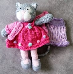 And yet another Miss Kitty Pink with a touch of mauve