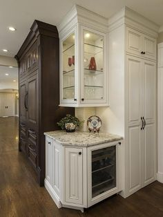 kitchen cabinet ideas for small kitchens installation costs corner shelves and an angled counter top instead of the ...