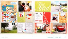 Project Life Week 40 *PL Kit Only* by debduty at @Studio_Calico