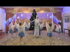 "Танец ""Метель"" детский сад №55 - YouTube Christmas Dance, Sunday School, Winter, Drama, Songs, Youtube, Early Education, Holiday Parties, Speech Language Therapy"