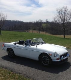 This understated MG beauty is the perfect car for a Sunday drive in the country