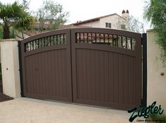 Explore unique High Quality Garage Gates Driveway Gate For Garage Door Opener design ideas from Jessica Griffin to makeover your house. Home Gate Design, House Main Gates Design, Fence Gate Design, Steel Gate Design, Front Gate Design, Door Design, House Front Gate, Garage Gate, Garage Doors