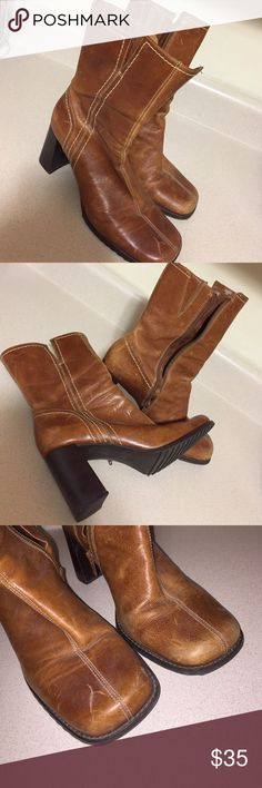 Parade Leather Boots Make me an offer. Parade Shoes Heeled Boots