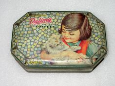 Vintage Old Dalima Toffees / Sweets Girl
