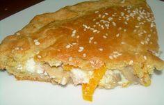 Παραδοσιακή της Κρήτης δεν τη λες! Επειδή όμως τα υλικά της είναι όλα ντόπια, έχει νομίζω τη θέση της στο blog! Τι κάνει κανείς όταν έχει λίγα απ' όλααλλά τίποτα αρκετό για να γεμίσει από μόνο του μια πίτα; Τα ανακατεύει όλα και τα δένει με μια «αλευρόκρεμα»! Το … Greek Recipes, Food Processor Recipes, Pancakes, Pizza, Sweets, Bread, Cooking, Breakfast, Tarts