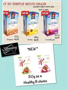 New Oat So Simple and Special K Healthy Extra B Choice :) astuce recette minceur girl world world recipes world snacks Slimming World Healthy Extras, Slimming World Syn Values, Slimming World Treats, Slimming World Tips, Slimming Word, Slimming World Breakfast, Slimming World Recipes Syn Free, Slimming World Porridge, New Cereal