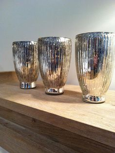 mercury glass hurricanes