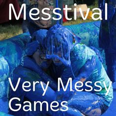 Messtival: Very Messy Games. Also recipes for gunge and slime.