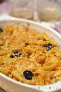 Senza Sale in Zucca: Pasta al forno con cavolfiore