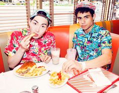 The Mishka Summer 2013 Collection is Distinguishably Young #tropical #fashion trendhunter.com
