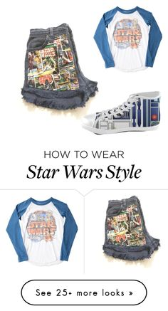 """Star Wars"" by smiling4miles on Polyvore featuring Junk Food Clothing"