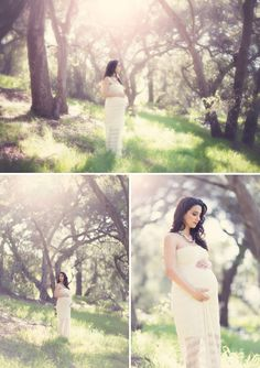 Romantic Maternity Session in the Forest - I know you are not pregnant- I just wondered if you liked this dreamy look. The place where I want us to go is similar to this!:)