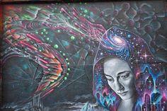 Ed Abillano: Today's Street Art - Celeste Sunset Photography, Street Art, San Francisco, Portrait, Artist, Painting, Graffiti, 18th, Men Portrait