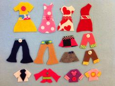 Felt Board activity set - Deluxe Dress Up Set (38pc)