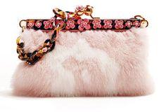Prada's spring 2013 fluffy purse.