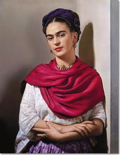 Frida Kahlo, 1939 by Nickolas Muray