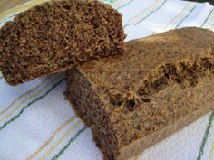 "Reformnasik: Lenmagvas paleo ""kenyér"" Sin Gluten, Gluten Free, Diabetic Recipes, Healthy Recipes, Healthy Foods, Banana Bread, Food And Drink, Low Carb, Desserts"