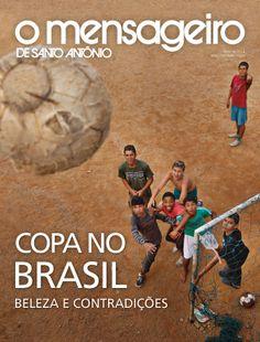 Capa Revista O Mensageiro de Santo Antônio Maio 2014