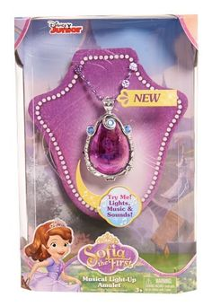 Sofia The First Musical Light-Up Amulet – Target Australia Little Girl Toys, Baby Girl Toys, Toys For Girls, Kids Toys, Sofia The First Cartoon, Princess Sofia The First, Disney Princess Toys, Disney Toys, Disney Princesses