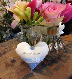 Personalised hanging heart - The Supermums Craft Fair