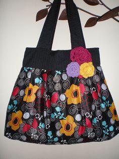 Bolsa: Flores Coloridas