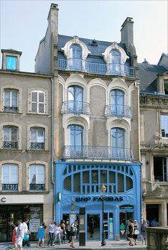 Maison art nouveau � Metz