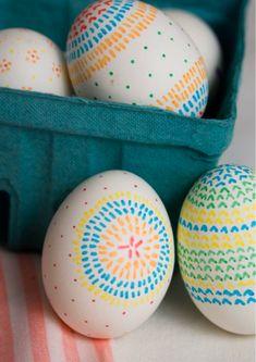 huevos pascua 600x849 10 Manualidades de Pascua