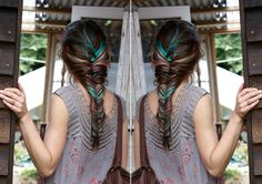 multi color braid