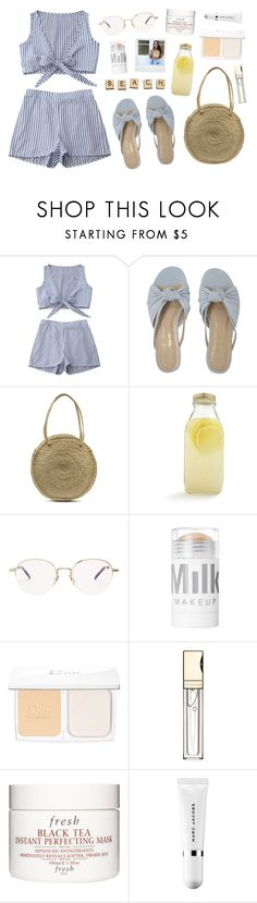 """☼ summer should get a speeding ticket ☼"" by daniellasinni ❤ liked on Polyvore featuring Bormioli Rocco, Hasbro, Yves Saint Laurent, Polaroid, Christian Dior, Clarins, Fresh and Marc Jacobs"
