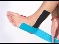 STRENGTHTAPE® | Kinesiology Tape | Ankle Stability - YouTube