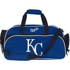 MLB Kansas City Royals Stymie Duffel Bag, Blue
