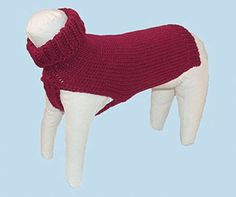 wacky doggy knits   Rosy red and plucked from the vine, you'll be a vibrant vision in this ...