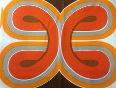 Unused vintage fabric  2.3m/90 by EllaOsix on Etsy, €45.00