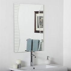 Decor Wonderland SSM1111 Ava Modern Bathroom Mirror