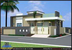 House Main Gates Design, House Front Design, Small House Design, Dream Home Design, Modern Architectural Styles, Pooja Room Door Design, Village House Design, Baby Krishna, Independent House