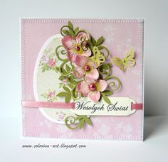 Colorina Holiday Cards, Christmas Cards, Fru Fru, Quilling Cards, Card Patterns, Cardmaking, Easter Card, Scrapbooking, Paper Crafts