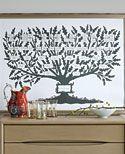 family tree idea --diy martha stewart