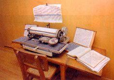 Machine conservée au Musée des Arts et Métiers (CNAM, Paris).