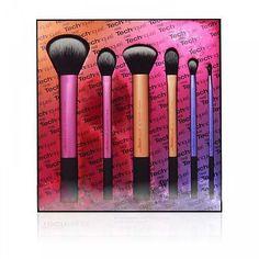 Nova RT de 6 PCS pincéis de maquiagem profissional set beleza cosméticos escovas escovas de pele e macio alishoppbrasil