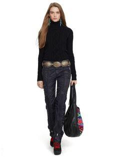 Aran-Knit Merino Turtleneck - Polo Ralph Lauren Turtle & Mocknecks - RalphLauren.com