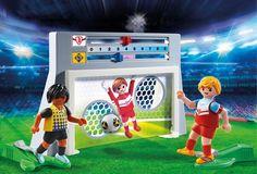 Playmobil Strafschoptraining met voetballers - 6858