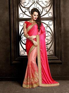 Wedding & Bridal Saree Sari Designer Party Wear Indian Pakistani Bollywood Sariat ladyindia.com