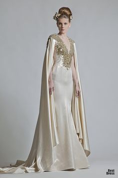 Historical Accuracy Reincarnated -- very historically inspired 2013 bridal couture